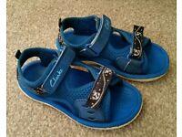 Boys clarks sandals (size 7 & half)