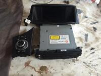 BMW e87 1 series satnav for player head unit with screen and idrive