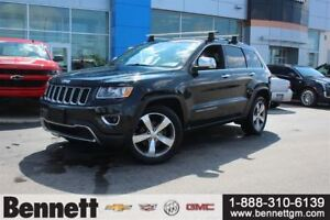 2014 Jeep Grand Cherokee Limited - 4x4 with Leather seats