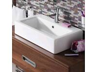 Brand new Bauhaus - Air 60 1 Tap Hole Countertop or Wall Mounted Basin