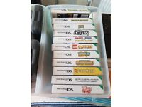Nintendo DS XL game console and games