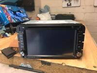 Touch screen radio sat nav dvd player , with bluetooth USB ans SD slot