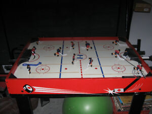 Old fashioned Recroom hockey game