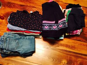 Selling Lot of 33 Items For Girl Size 2 for $35