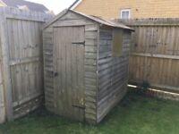 Free 6x4 garden shed