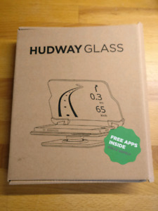 Hudway Augmented Reality Glass for GPS