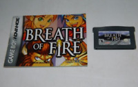 Breath of Fire GBA w/ Manual