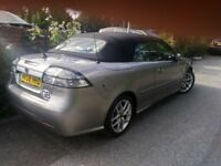 Saab 9-3 TiD Vector Sport SE Convertible/Cabriolet - NOT BMW/MERECEDES/AUDI. Excellent condition!