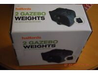 Gazebo Weights X 11 packs from Halfords - all for £55