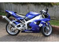 Yamaha R1 1999 only 13600 miles One Owner From New. 12 months MOT. Fantastic Condition