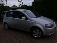 Chevrolet Kalos (Silver) one owner from new full service history lovely condition