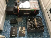 Call Of Duty Black Ops 2 Care Edition RC Remote Drone Complete Xbox 360