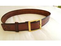 Beneath The Stars Hand Made Chunky Leather Belt