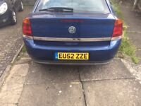 2003 VAUXHALL VECTRA 2.0L DTI MANUAL DIESEL , MOT UNTIL FEB 2018 , MOTED AND INSURED GOOD CAR