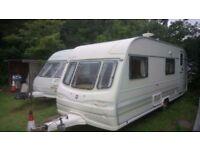 Avondale 6 berth touring caravan