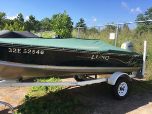 END OF SEASON DEAL 2000 LUND REBEL WITH A 50 HP HONDA 4 STROKE