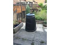 Black Large-Volume Compost Bin, Free to a Good Home