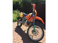KTM EXC 200 2t, Great condition, new tyres, serviced and ready to ride!