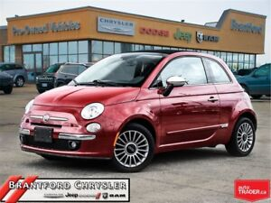 2012 Fiat 500C Lounge~Leather~Convertable~Bluetooth~