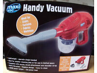 3 New Handly Vacuums.