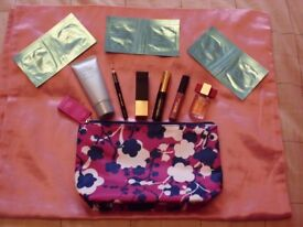 Brand New unopened Estee Lauder Make up bag with Nine Estee Lauder items
