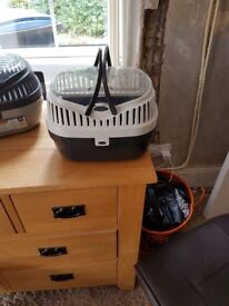 Hamster/Small animal travel/carry cage (sell together for £8 or each for £5)