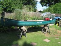 venture canoe, only used a couple of times.