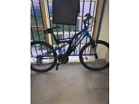 "24"" Vertigo Rockface Dual Suspension Mountain Bike"