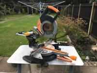Evolution rage3 mitre saw 110v