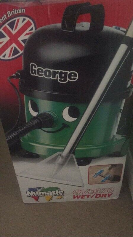 George GVE 370-2 Wet and Dry Cylinder Vacuum Cleaner