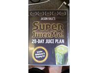 Jason Vale's Super Juice Me 28-day juice plan