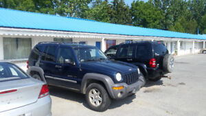 Engine is completely gone parting out 2002 jeep liberty