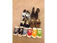 Pram shoes and socks