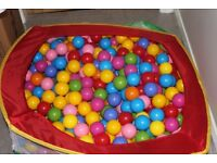 Ball Pool & Multi Coloured Balls