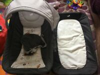 Joie custom click commuter travel cot rocker and changing mat