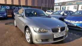 """STUNNING"" BMW 3 Series Coupe 170 BHP (2007) - Low mileage - 12 Months MOT - F.S.H - HPI clear!"