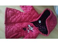 girls coat minnie mouse