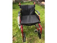 Enigma Aluminium Self Propel Wheelchair