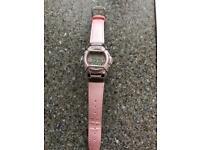 Pink Baby G Watch