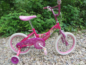"""Vélo pour fille """"Huffy Princess Shimmer"""" roues 16po"""