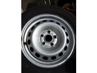 Vw 15 inch wheels an tyres