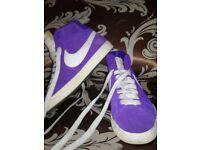 Purple Nike Blazers 4.5