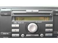 2008 Ford Fiesta Stereo with Radio Code!
