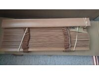 Tuiss Soft Maple & Auburn 35mm wooden blinds NEW