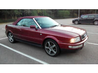 Audi Cabriolet Convertible 2.6 V6 Automatic, 12 months MOT, VERY CLEAN and ORIGINAL EXAMPLE