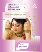 Bridal Makeup Artist & Hairstylist