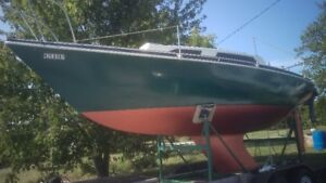 Abbott 22' sailboat