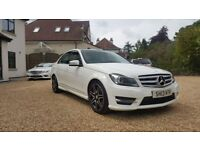 Mercedes c220 sport plus with panoramic roof