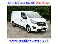 2016 (16) VAUXHALL VIVARO 2900 L2H1 LWB LOW ROOF PANEL VAN 115BHP,Medium