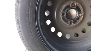 4 Ford Summer Tires and rims w/ sensors.